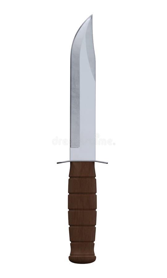 Combattimento knife2 immagine stock libera da diritti