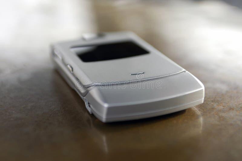 Combiné téléphonique mince de téléphone portable photos libres de droits