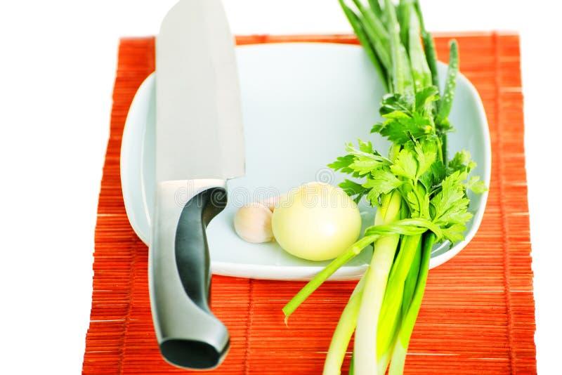 Download Combinação da faca imagem de stock. Imagem de nutrition - 12807219