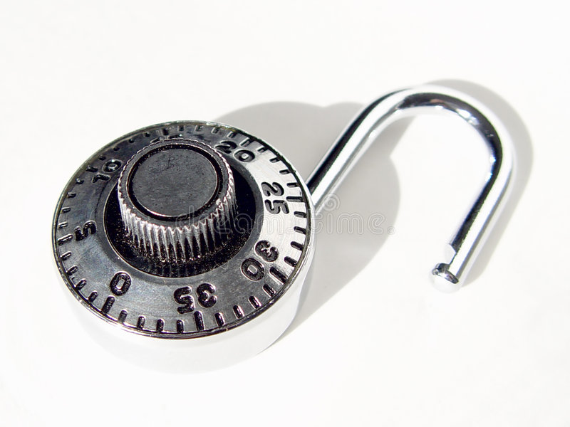 Download Combination lock stock photo. Image of objects, dial, numbers - 116916
