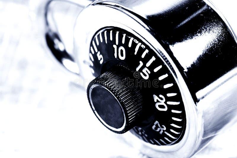 Combination Lock. Photo of a Combination Lock stock image