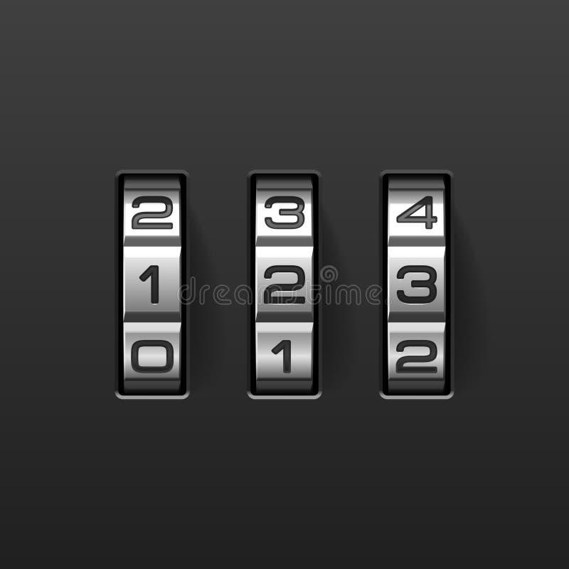 Free Combination Lock Royalty Free Stock Image - 14672356