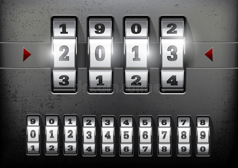 Download Combination Lock Royalty Free Stock Photo - Image: 27556295