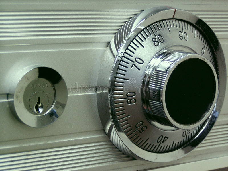 Combination Safe royalty free stock images