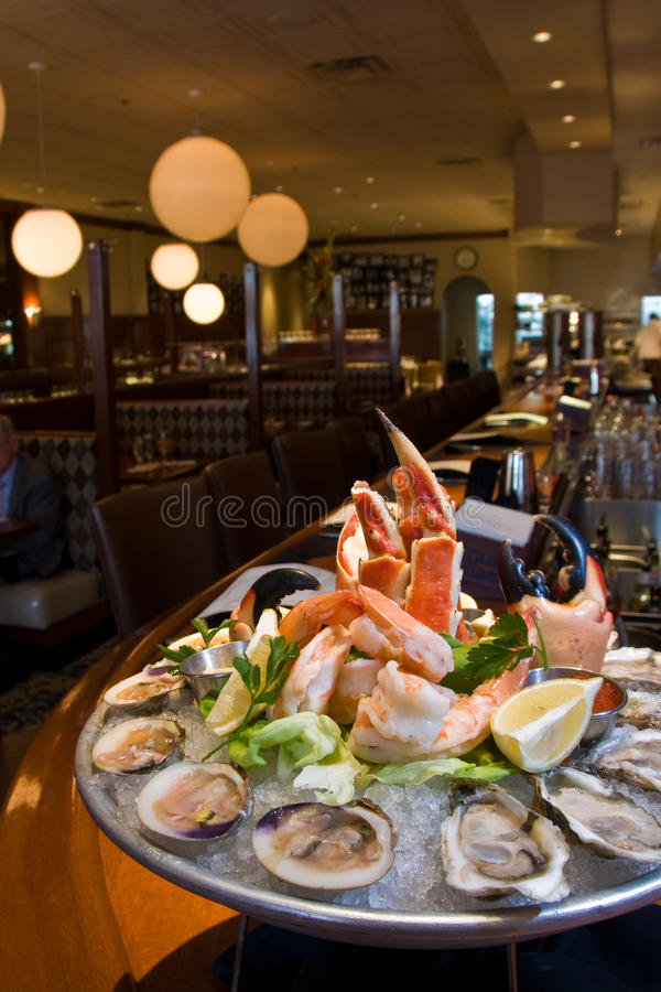 Free Combination Seafood Platter Stock Photo - 11544200