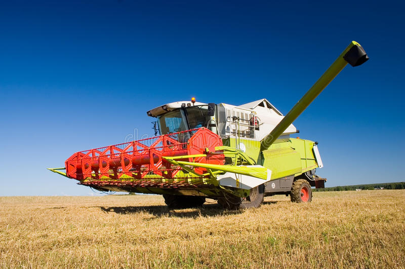 Download Combine stock image. Image of work, combine, field, agriculture - 16698587