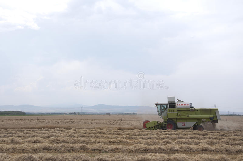 Download Combine editorial photography. Image of combines, harvest - 23510527