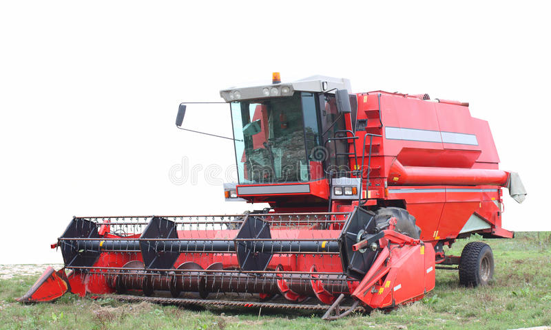 Download A combine harvester stock photo. Image of professional - 15100890
