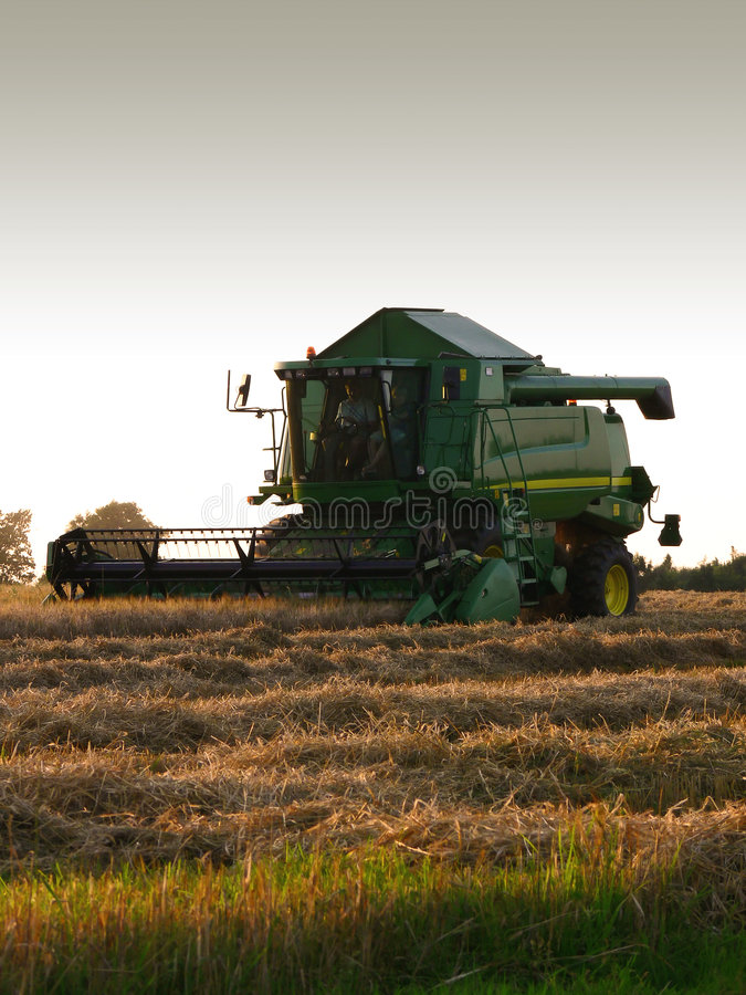 Combine Harvester royalty free stock photography