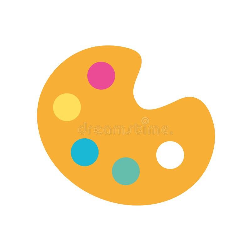 Combineer kleurenpalet vector illustratie