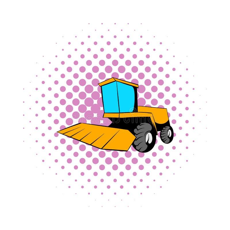 Combineer pictogram in strippaginastijl stock illustratie