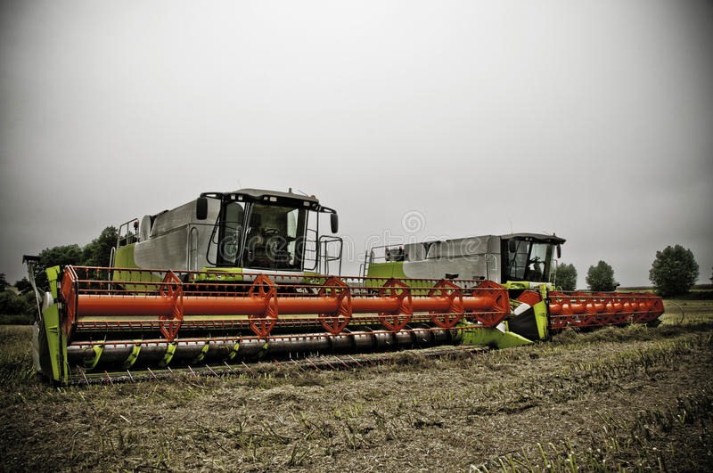Download Combines stock image. Image of growth, harvesting, agricultural - 20791427