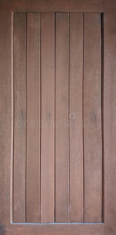 Combining multiple pieces of wood  To make a sheet of wood, Frame portrait view royalty free stock photos
