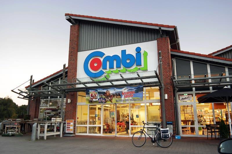 Combisupermarkt royalty-vrije stock fotografie