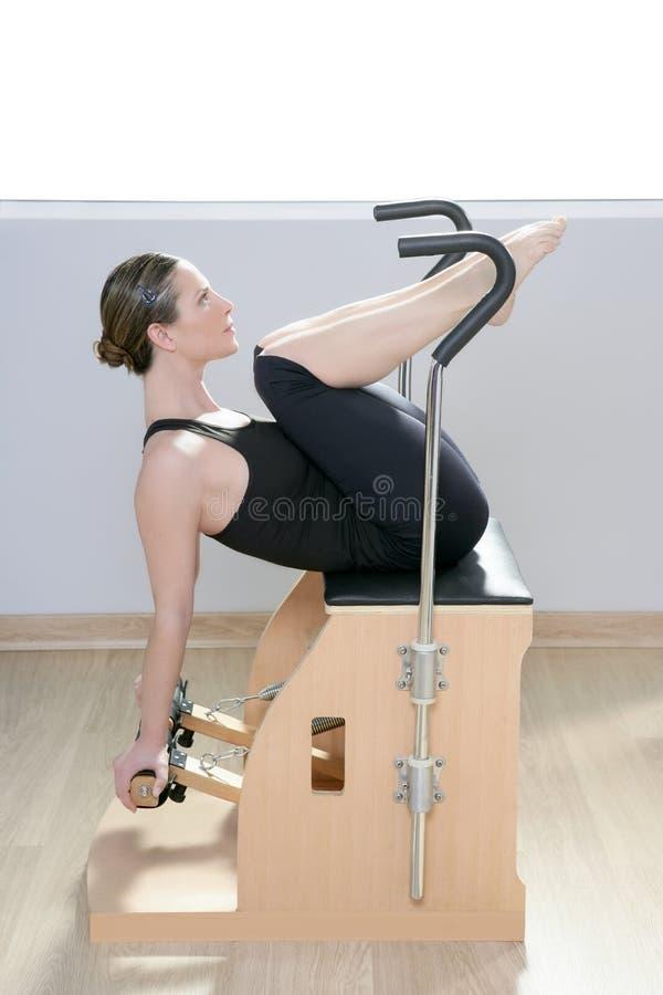 Combo Wunda Pilates Chair Woman Fitness Yoga Gym Stock ...