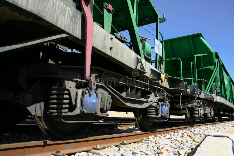 Trem de mercadorias imagens de stock