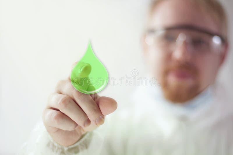 Combustível biológico foto de stock