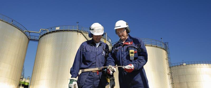 Combustível e coordenadores panorâmicos imagens de stock