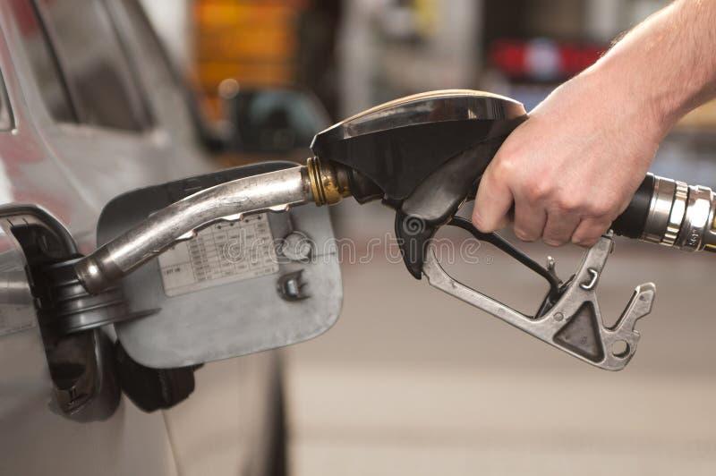Rifornimento di carburante dello II fotografie stock libere da diritti