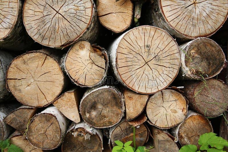 combustible de madera de madera de la textura fotografía de archivo