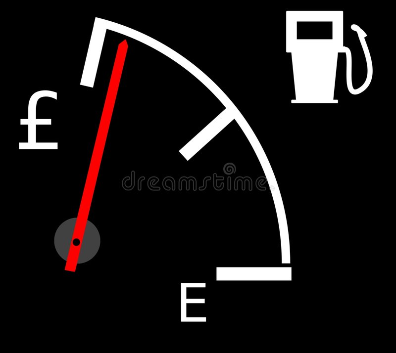 Combustible y gas de levantamiento costados (libras) libre illustration