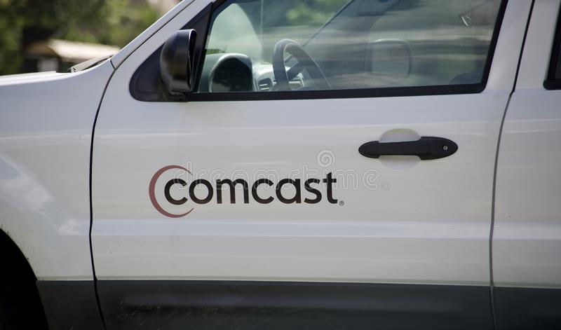 Comcast Cable Company stock fotografie