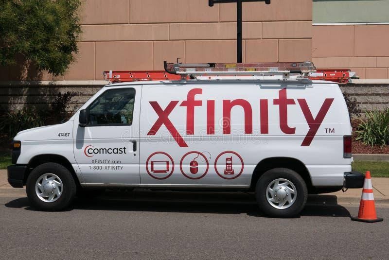 Comcast Xfinity royalty-vrije stock afbeelding