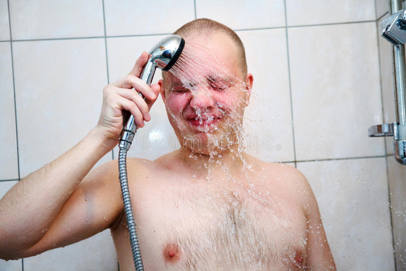 Começ o chuveiro fotografia de stock royalty free