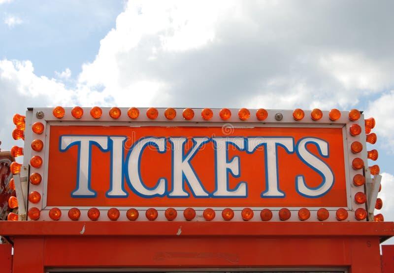 Começ seus bilhetes imagem de stock royalty free