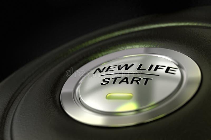 Começando uma vida nova ilustração do vetor