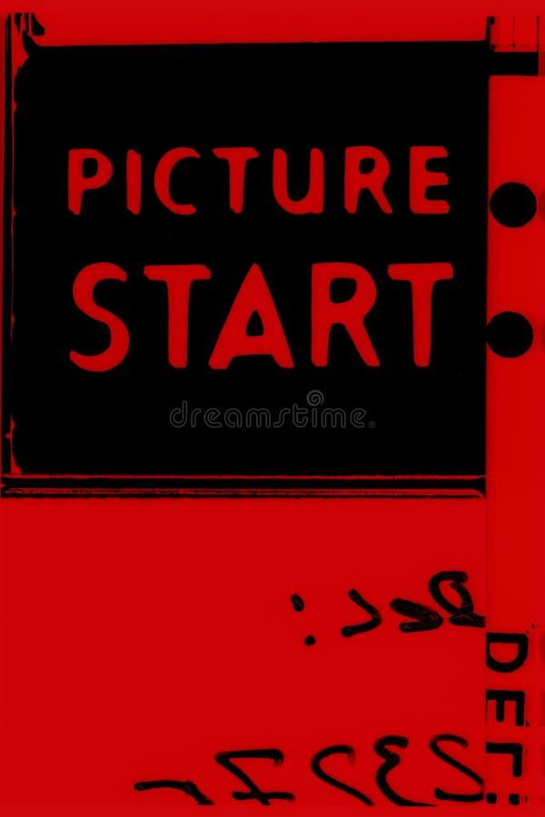 Começo do retrato imagem de stock