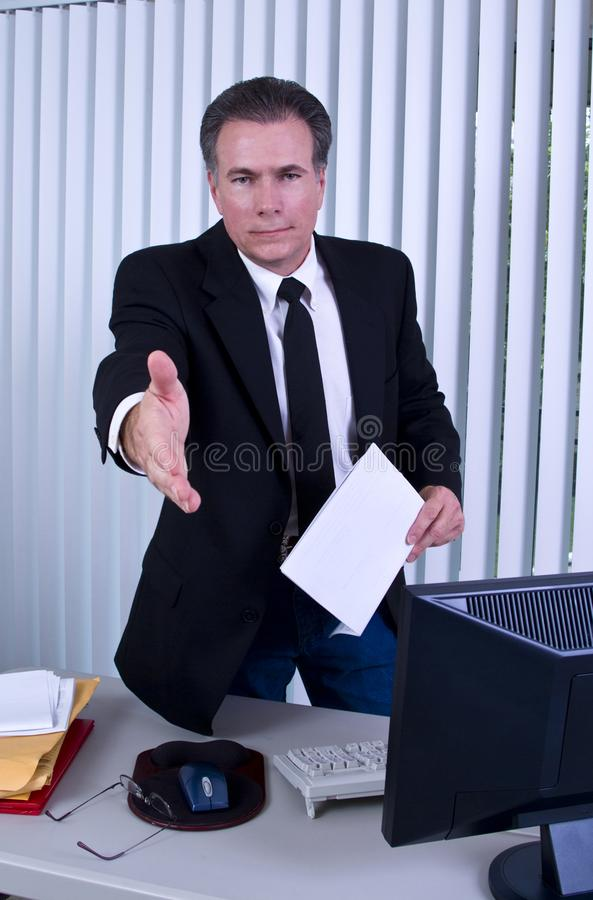 Come on In royalty free stock image
