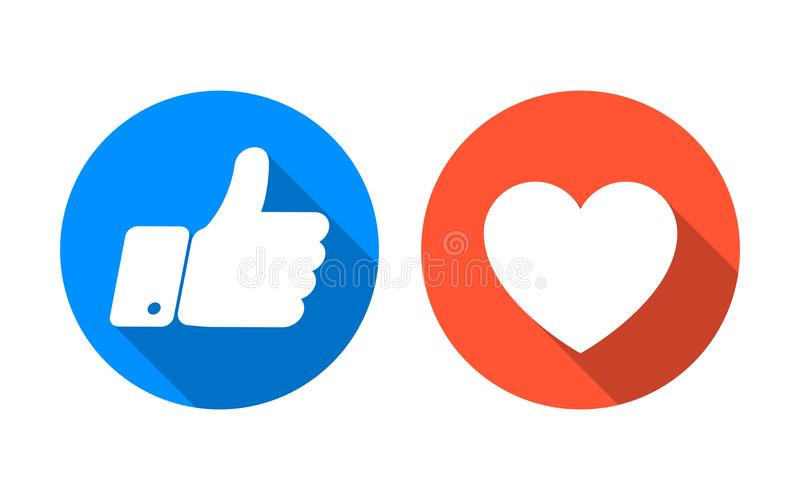 Come e del cuore insieme dell'icona Vettore royalty illustrazione gratis