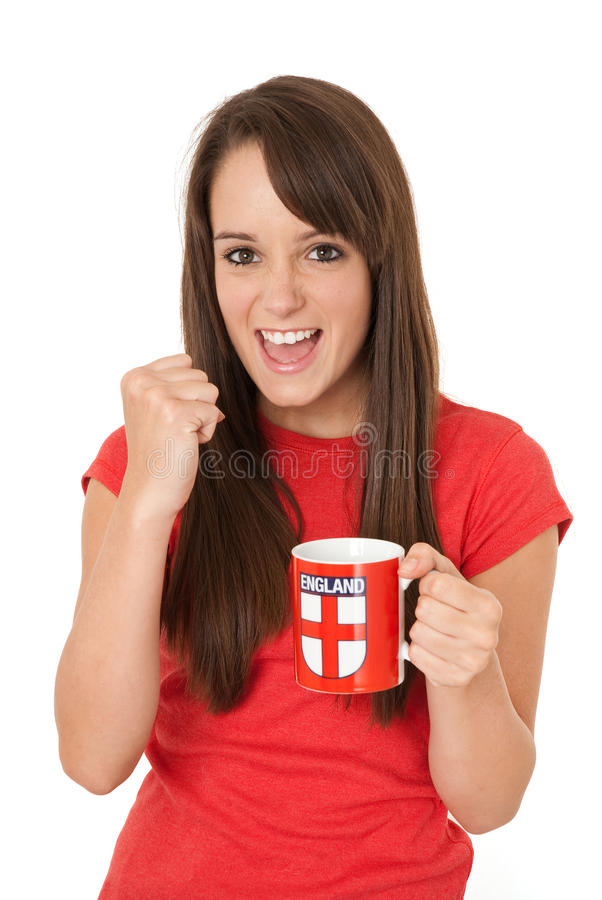 Download Come on England stock image. Image of female, happy, euro - 15404723