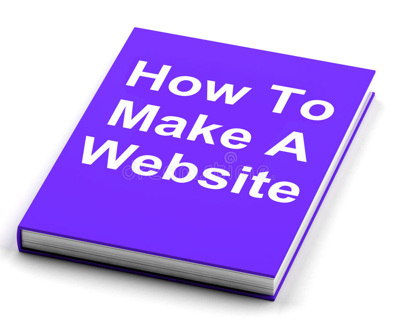 Come fare un sito Web prenotare web design di manifestazioni royalty illustrazione gratis