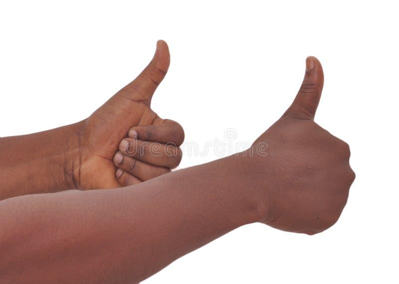 Come 8 gesti denunciano i vostri pensieri? fotografia stock