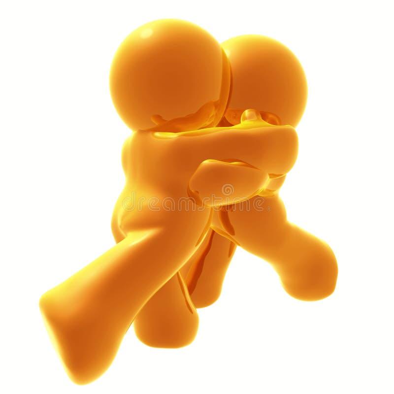 Download Come and hug me stock illustration. Image of close, walk - 8349741