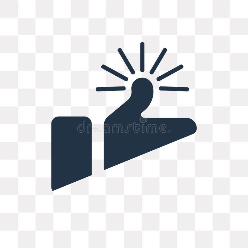 Come l'icona di vettore isolata su fondo trasparente, come trasporto illustrazione vettoriale