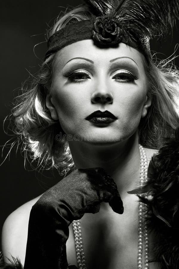 Come Marlene Dietrich fotografia stock libera da diritti