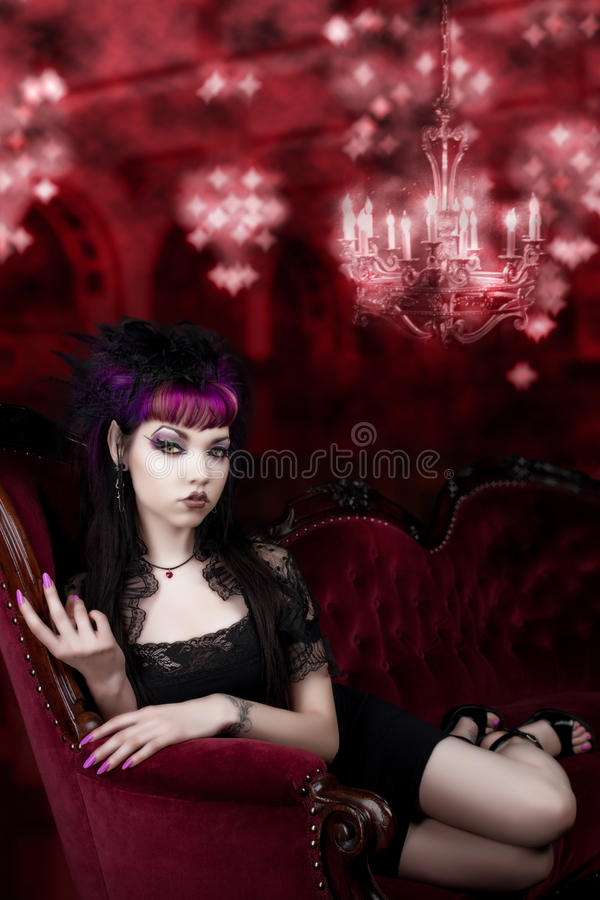 Come into my Lair royalty free stock image