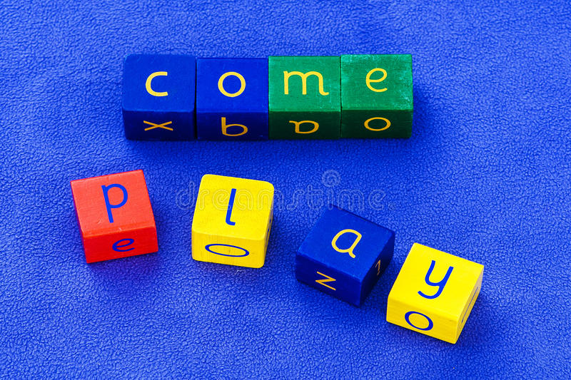 Download Come Play stock photo. Image of capital, background, word - 31657846