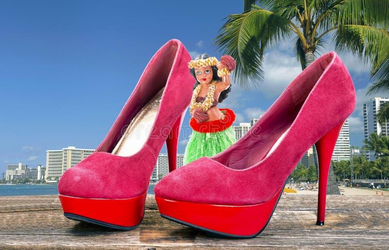 Come to Hawaii. stock photos