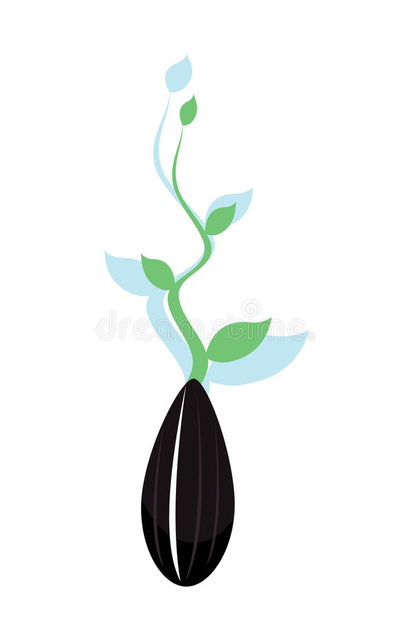 Download Come up stock vector. Image of background, life, plant - 5146839