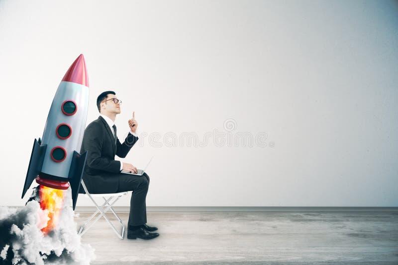 Comece acima e conceito do crescimento fotos de stock