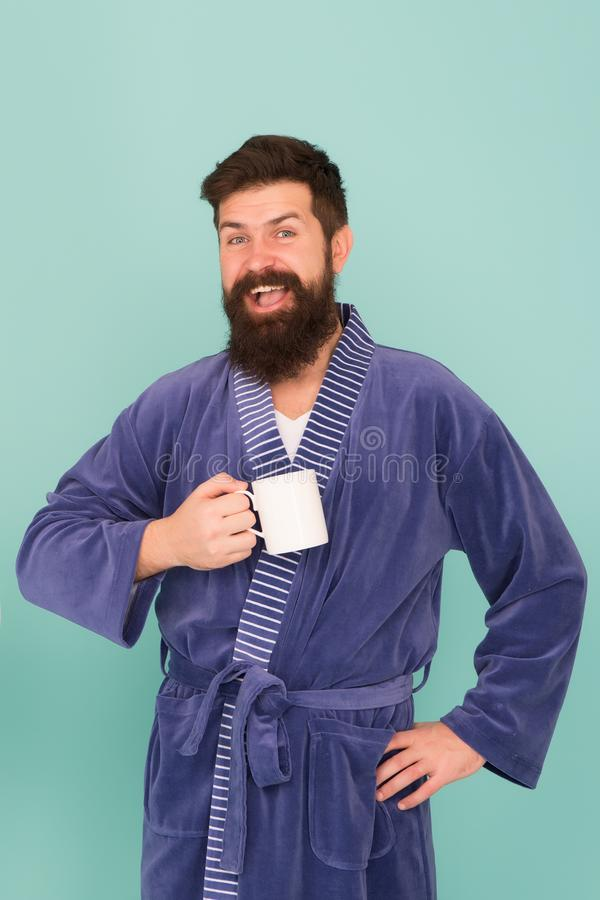 Comece de manhã a rotina diária começa a partir do café precisa de energia hora do chá em casa manhã feliz manhã imagem de stock royalty free