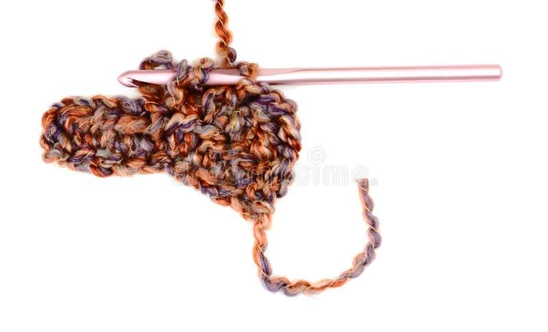 Comece a faixa crocheted fotos de stock
