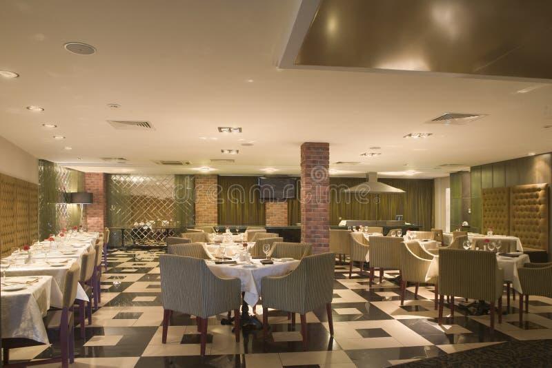 Comedor del hotel imagen de archivo