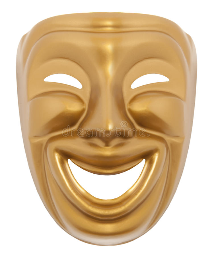 Free Comedy Theatrical Mask Stock Photos - 29571523