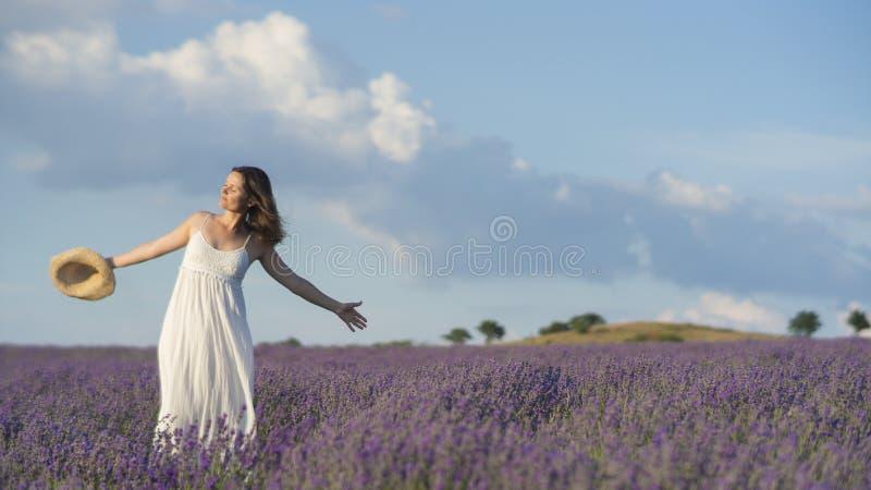 Comemorando a beleza da vida fotografia de stock