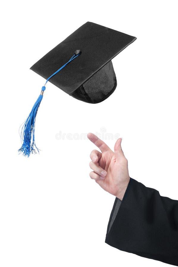 Comemorando a graduação imagem de stock